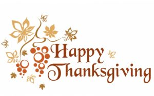 Office Closure – Thanksgiving