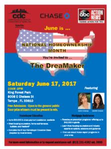 DreamMaker Flyer 2017