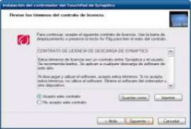 Synaptics Touchpad Driver 16