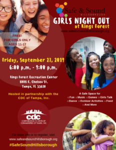 Girls Night Out w/ CDC of Tampa