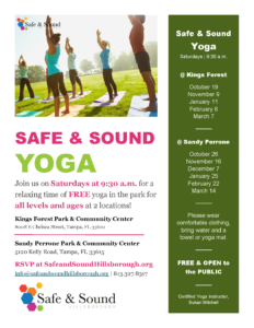 Safe & Sound Yoga @ Sandy Perrone